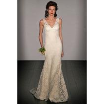 Vestido De Noiva Tubinho Soltinho Sob Medida Em Renda