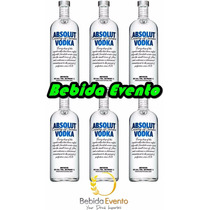 Vodka Absolut 1lt Cx C/6