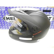 Capacete Helt Cross Vision Preto Fosco 58 Envio 20% + Barato