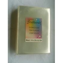 Saquinho Plastico Envelope P/ Dvd Cd Sem Aba 01k C/340 Unid.