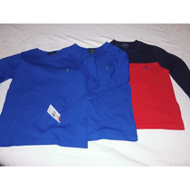 Camiseta Ralph Lauren Infantil Original