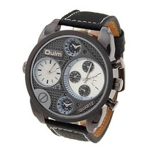 Relógio Masculino Oulm Russo Gemius Army Exército 9316