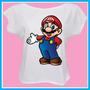 Blusa Feminina Super Mario Bros, Nintendo, Games, Divertida