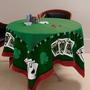 Toalha De Mesa Jogo Baralho Jocker Aveludada Poker-truco