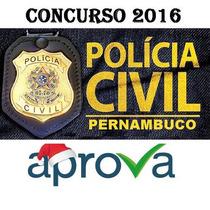 Pcpe Pc Pe Policia Civil Perito Criminal Pós Edital 2016