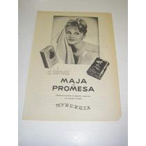 ( L - 290/ P ) Propaganda Antiga Sabonetes Myrurgia