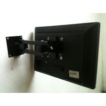Suporte Articulado Tv Monitor Lcd Led Plasma 20 22 24 27 32
