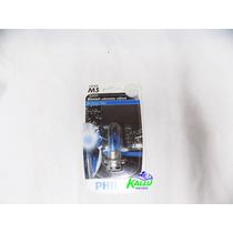 Lâmpada De Farol M5 Blue Vision Phillips 35x35 Kallu Motos