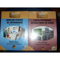 Quimo Técnico De Enfermagem + Quimo Língua Portuguesa E Sus