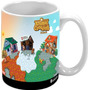 Caneca Personalizada Animal Crossing Nintendo 3ds Wii U Cube