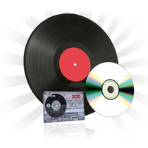 Cd/dvd - Vinil - Disco -lp - Conversor De Lp Em Cd/dvd