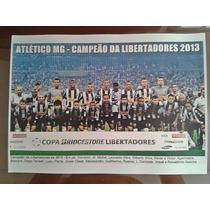 Poster Do Atlético Mg - Campeão Da Libertadores 2013