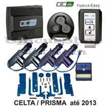 Alarme Carro Olimpus Easy 2 Controles+trava Celta Prisma 4p