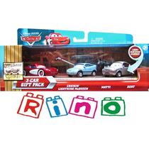 Disney Cars Pack 3 - Matti + Bert + Cruisin Mcqueen - Mattel