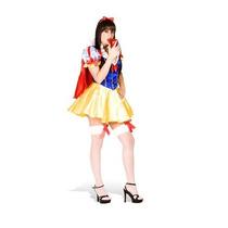 Fantasia Branca De Neve Princesa C/capa-tiara Super Detalhad