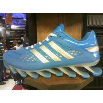 Tenis Adidas Springblade Azul Bebe 38 Ao 43 Original