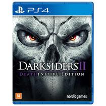 Darksiders 2 Playstation 4 Deathinitive Edition Midia Fisica