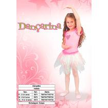 Fantasia Infantil Bailarina/ Dançarina