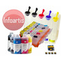 Bulk-ink Canon Ip4600 Ip4700 Mp630 Mp620 Mp540 + Tinta