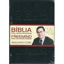 Bíblia King James Atualizada Freemind - Capa Luxo Preta