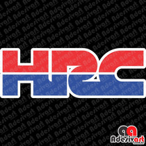 Adesivo Hrc Honda Racing Corporation Moto Carenagem Cbr Hrc