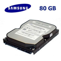 Disco Rigido Sansung 80 Gb Sata 7200 Rpm Modelo Hd080hj-