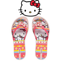 Chinelo Hello Kitty Friends Ipanema Rosa 25863