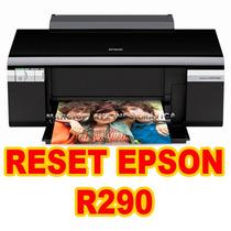 Destravar Impressora Epson R290 ( Resetar-almofadas)