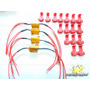 4 Resistor P/ Mini Pisca De Led Motos Flasher 25w 8 Ohm 12v