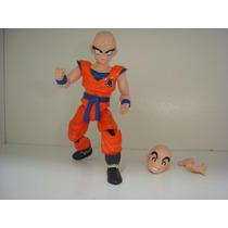 Kuririm Dragon Ball Z Kai Boneco Articulável Dbz Kuririn