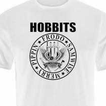 Camiseta Hobbits - O Senhor Dos Anéis