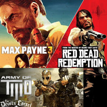 Max Payne 3 Complete Br + Red Dead Redemption + Army Of Two