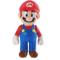 Boneco Mário - Action Figure Video Game Mario Bros
