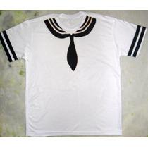 Camiseta Marinheiro Fantasia Criativa Engraçada