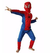Fantasia Homem Aranha Infantil Spiderman Festa Criança