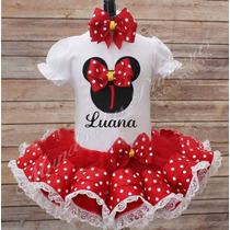 Fantasia Personalizada - Minnie Mouse
