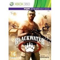 Jogo Novo Lacrado Blackwater Para Xbox 360