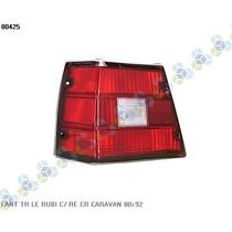 Lanterna Traseira Esquerda Rubi Caravan 80/92 - Ht