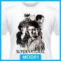 Camiseta Supernatural, Seriados, Winchester, Tv