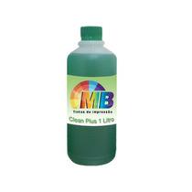 1 Litro Solução Limpeza Clean Cabeças Bulk Cartuchos Tinta