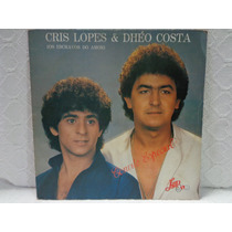 Lp Cris Lopes & Dhéo Costa-convite Especial-lup Som-1985