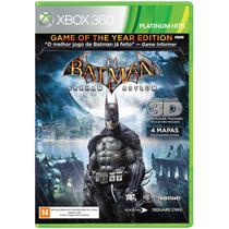 Batman Arkham Asylum ( Ntsc - 3d ) ( Xbox 360 }