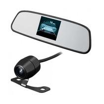Retrovisor Monitor Lcd 4.3 Colorido + Micro Câmera De Ré