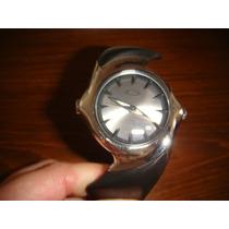 Relógio Oakley Preto Crush 2.0 Sunburst Silver Dial