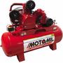 Compressor Motomil - Maw-25/250i- 25pcm³- 250l- 175lbs Trif.