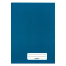 Caderno Brochura 1/4 Capa Dura 192 Folhas Brimpress - Azul