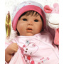 Tall Boneca Menina Bebê Realista Tipo Reborn C/ Enxoval