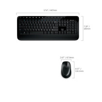Kit Teclado + Mouse Wireless Microsoft Desktop 2000 Sem Fio.