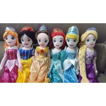 Princesas Disney Boneca Plush 55cm