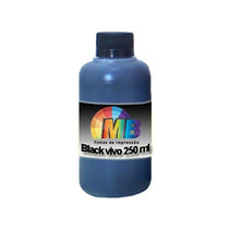Tinta Preta 250ml Recarga Cartucho Impressora Hp Lexmark